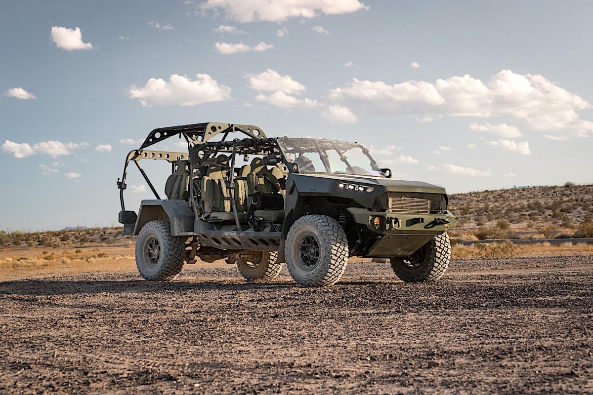 US Army Memilih Chevy Colorado ZR2 Sebagai Infantry Squad Vehicle
