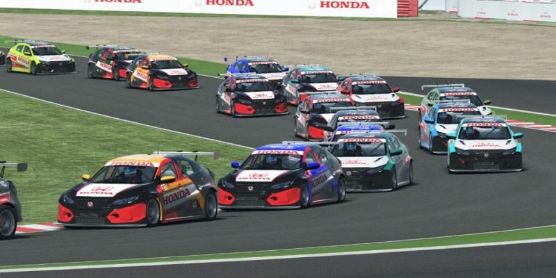 Honda Bawa Simracer Jajaki Virtual Sirkuit Silverstone