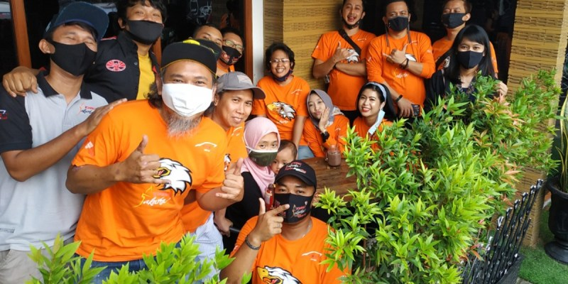 Serba Orange, Kopdar Perdana TAC Jakarta di Masa New Normal