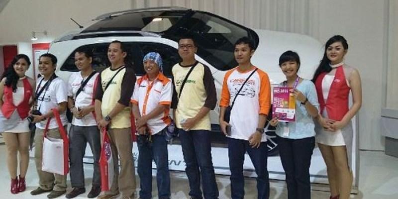 IIMS 2014, Indonesia Sportage Hadir di Booth KIA