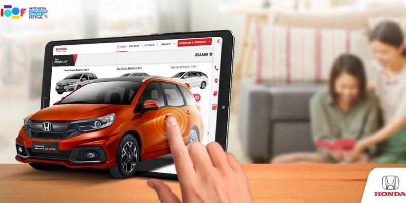 Genjot Penjualan, Honda Ramaikan Festival Pasar Otomotif Virtual