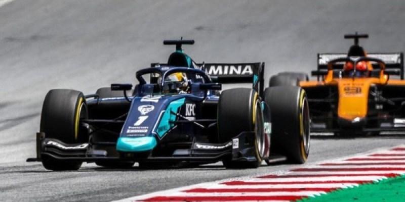 Belum Maksimal, Sean Gelael Tampil Lebih Baik di Race 1 F2 Inggris