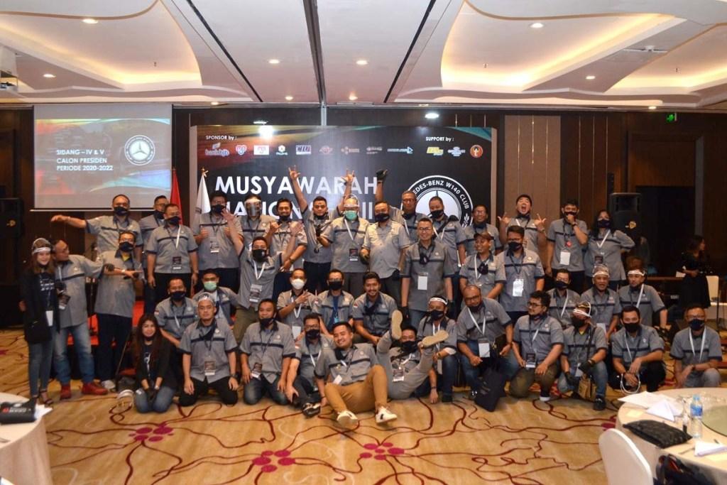 Munas ke-3, MB W140 CI Resmi Tunjuk Presiden Periode 2020-2022
