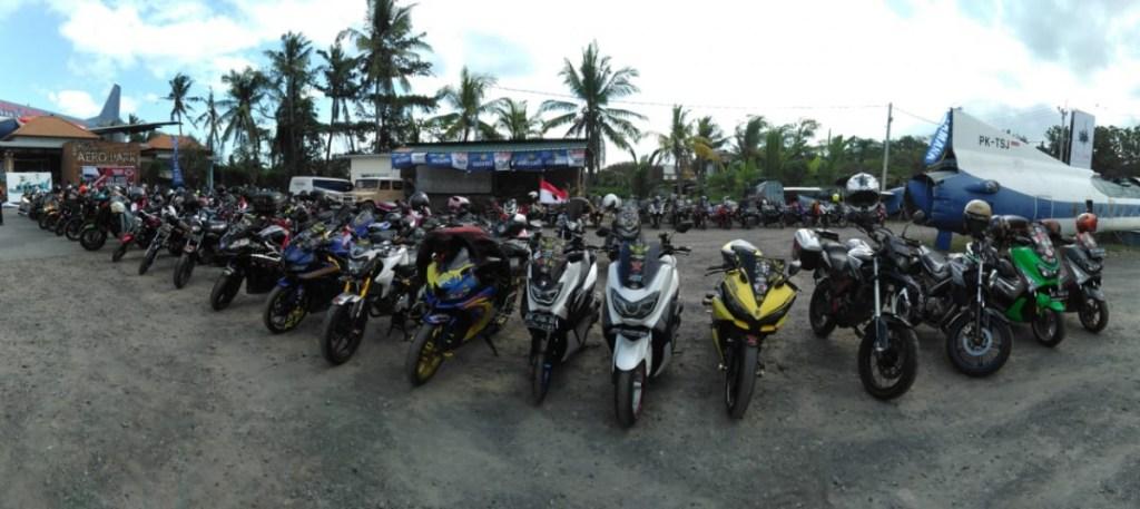 Gelar Touring Merdeka, YRFI Bali Kunjungi Penangkaran Penyu