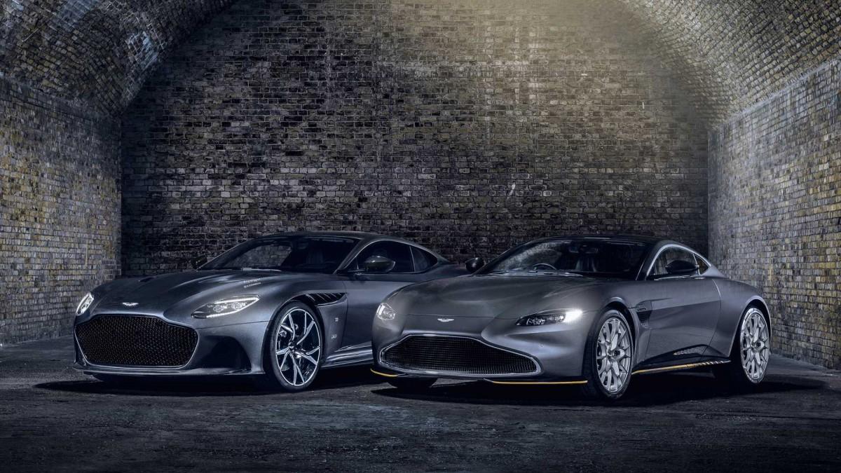 No Time To Die, Panggung Istimewa Aston Martin 007 Edition Model