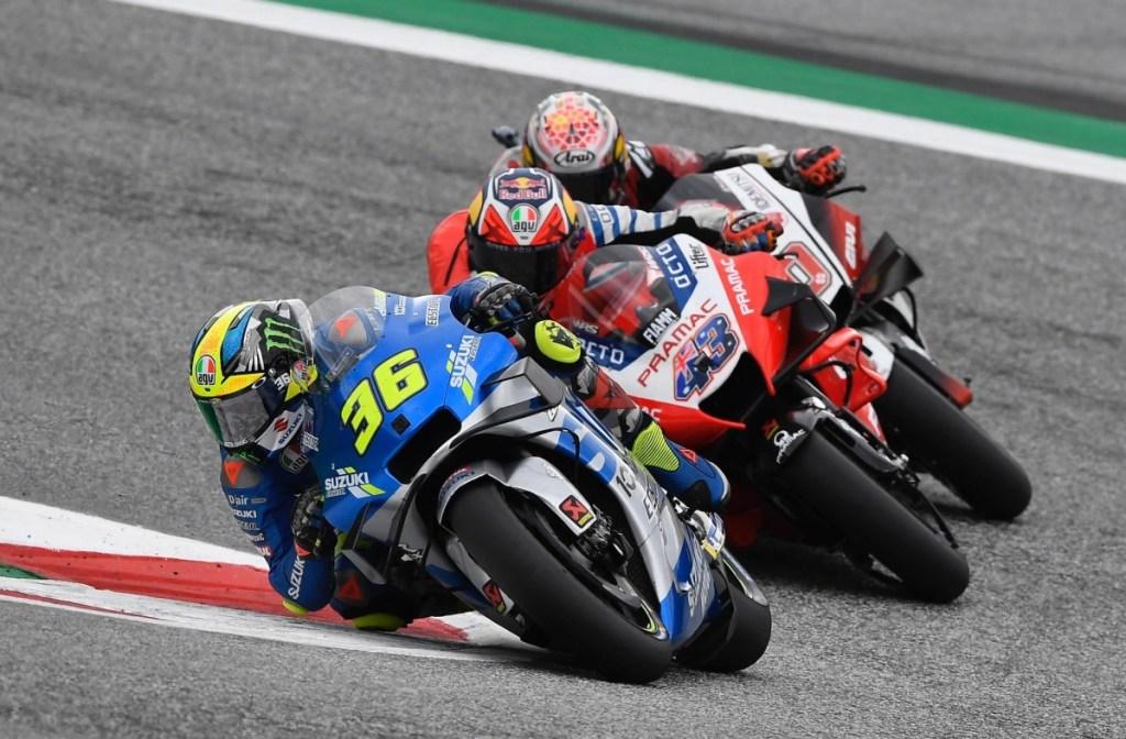 MotoGP Austria, Peluang Tim Suzuki Ecstar Makin Terbuka Lebar