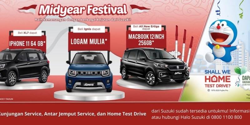 'Midyear Festival', Suzuki Berikan Kado Istimewa Bagi Konsumennya