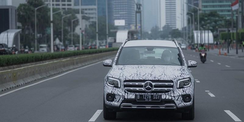 Uji Coba Model Terbaru Mercedes-Benz