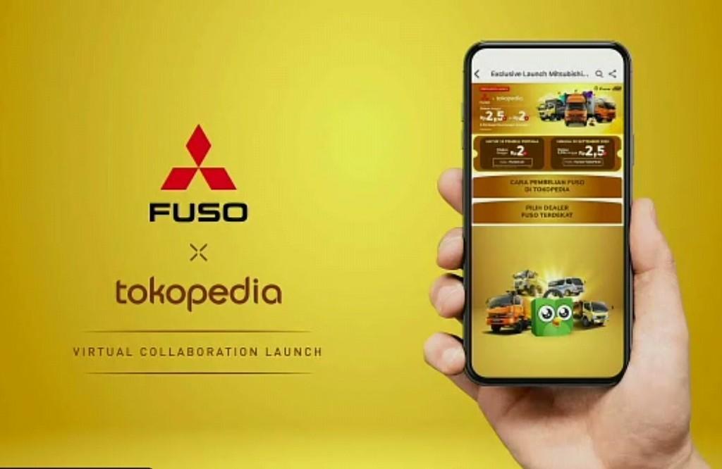Sekarang Beli Mitsubishi Fuso Bisa di Tokopedia