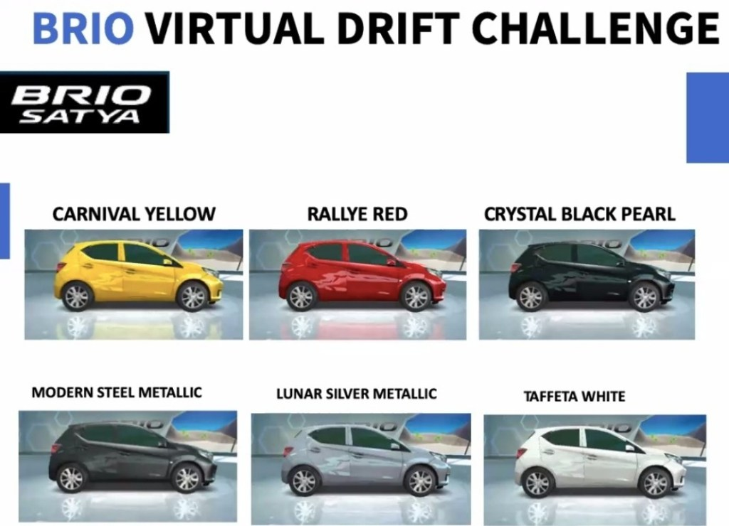 Ajak Gameloft, Honda Luncurkan Game Brio Drift Challenge
