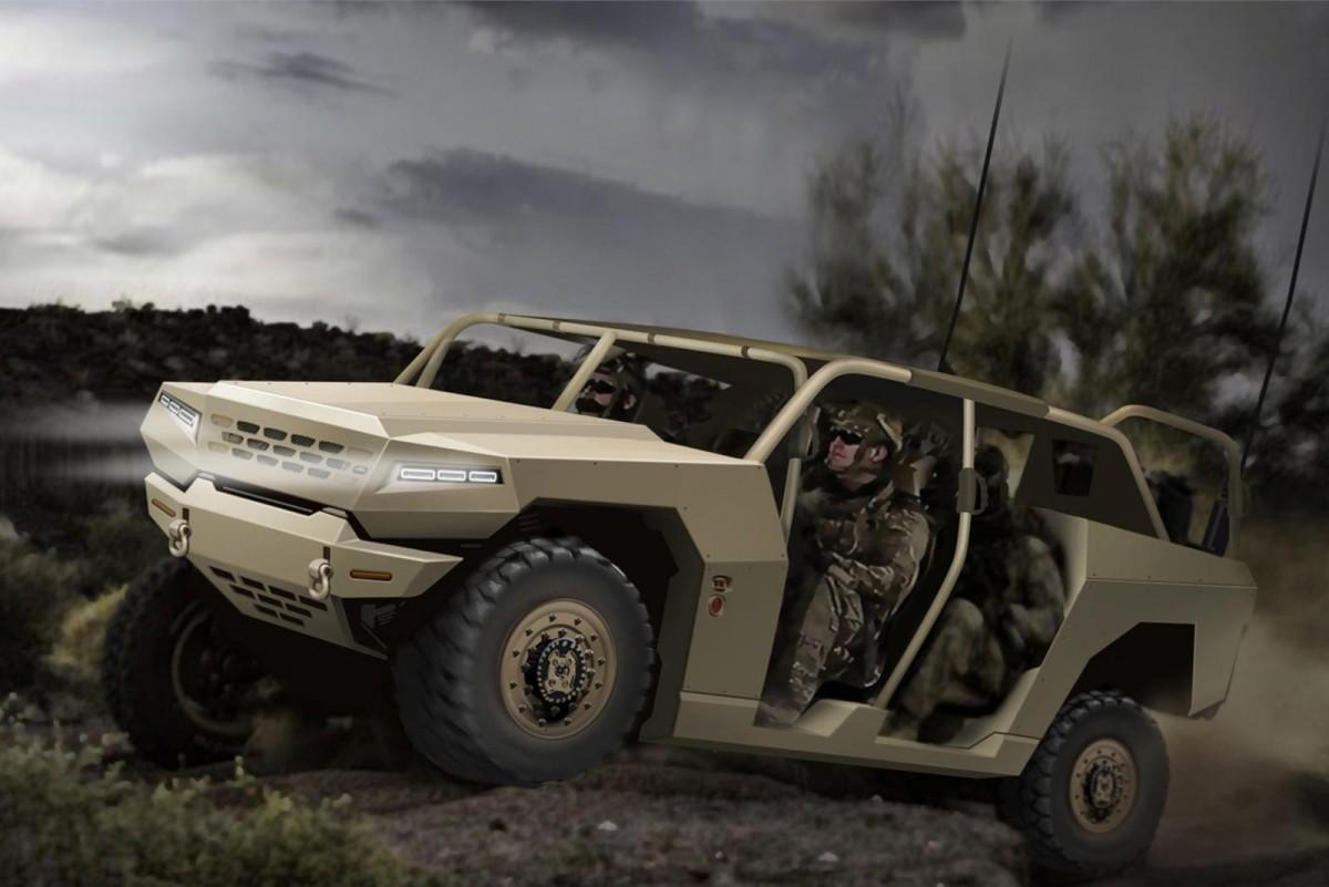 Kia Siapkan Kendaraan Militer Generasi Terbaru