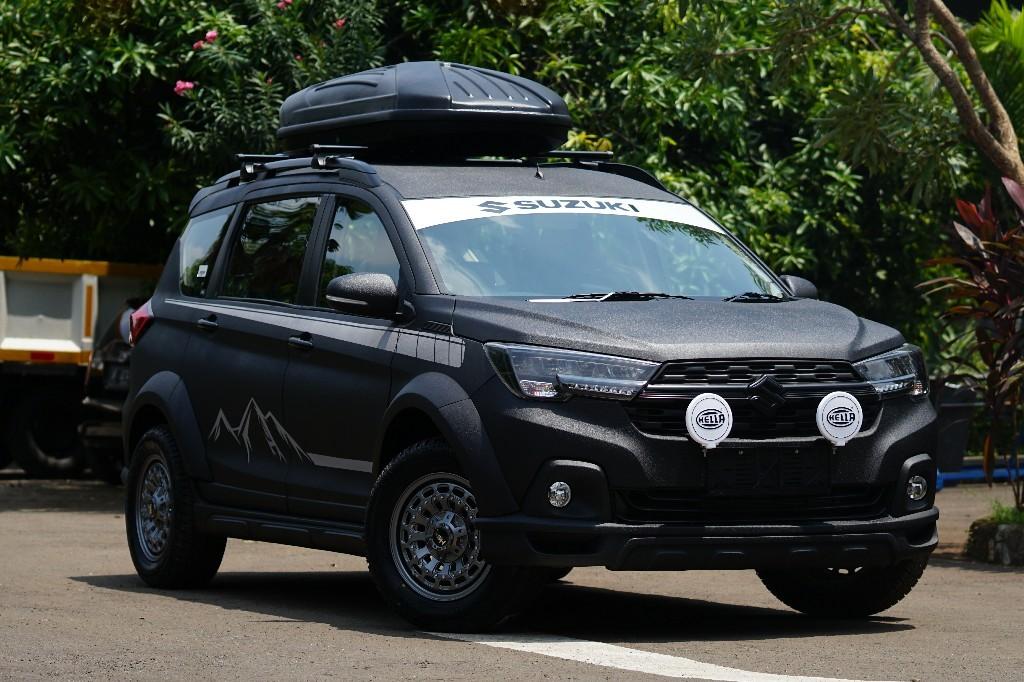 Gagah, Suzuki XL7 Modifikasi Mejeng di IMX 2020