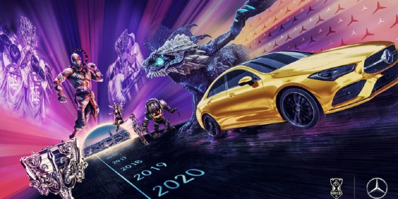 Mercedes-Benz Mitra Eksklusif Untuk Seluruh League of Legends