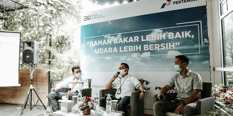 PT Pertamina Sosialisasikan Bahan Bakar Untuk Udara Lebih Bersih