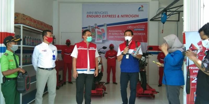 Pertamina Luncurkan Enduro Express di SMK Yosonegoro Magetan