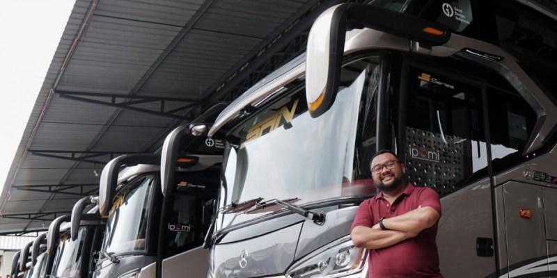 Mobil™ Lubricants dan IPOMI Berikan Safety Kit Untuk Penumpang Bus