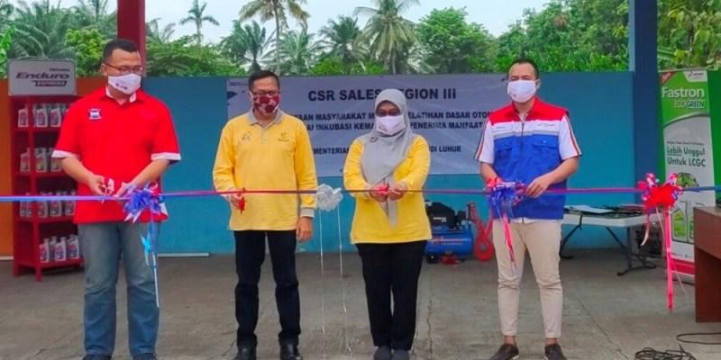 Cortezian Indonesia dan Pertamina Lubricants Resmikan Bengkel