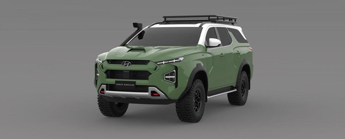 Hyundai Siapkan Penantang Toyota Land Cruiser