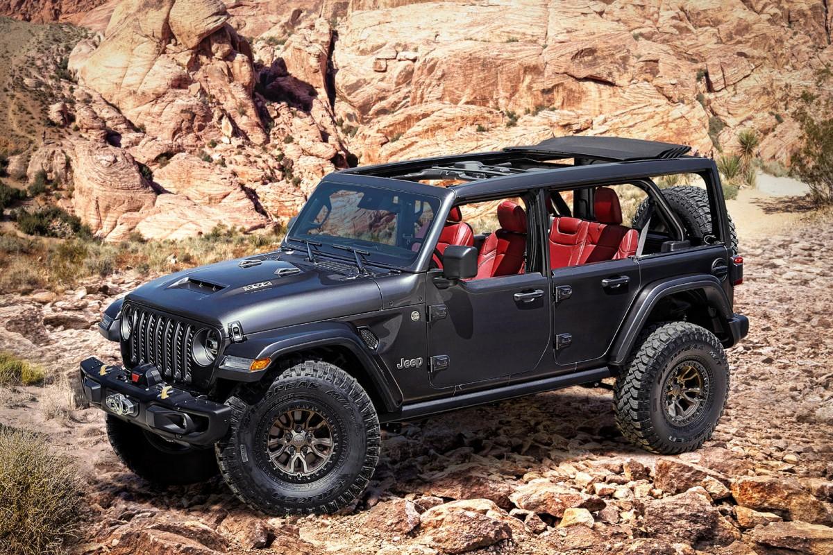 Jeep Wrangler Bermesin Hemi V8 Segera Meluncur