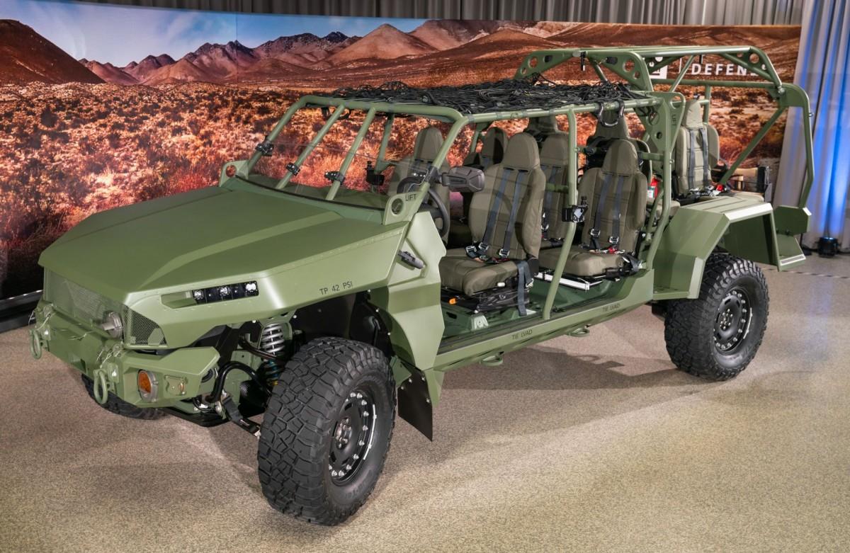 GM Defense Kirim Infantry Squad Vehicle Kepada U.S. Army