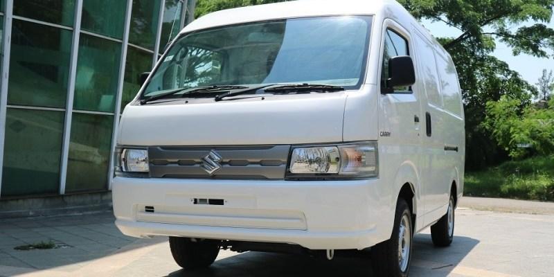 Suzuki Luncurkan Carry Minibus dan Blind Van, Dijual Rp 200 Jutaan
