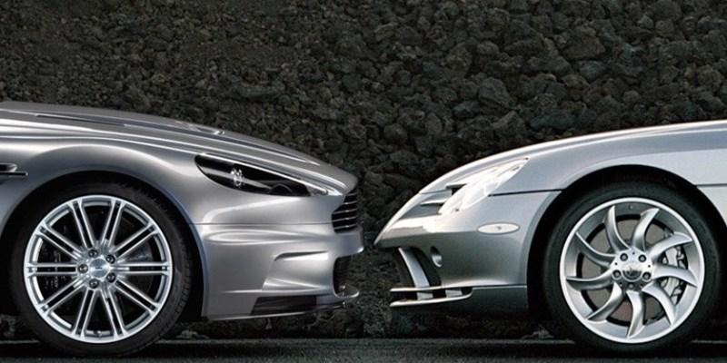 Mercedes-Benz Barter Teknologi dengan Saham Aston Martin