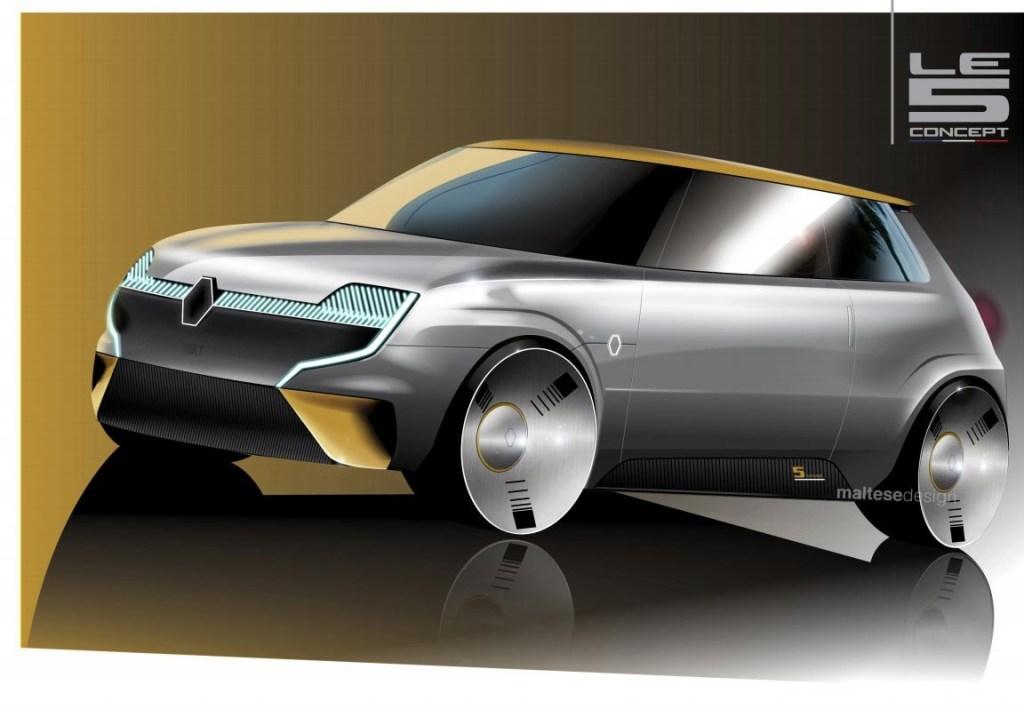 Renault Le 5 Concept, Siap Saingi MINI Cooper?