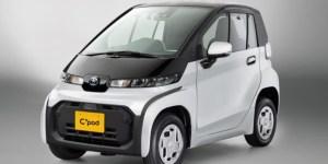 Toyota Luncurkan C+pod, Mobil Listrik Mungil Harga Rp 233 Jutaan