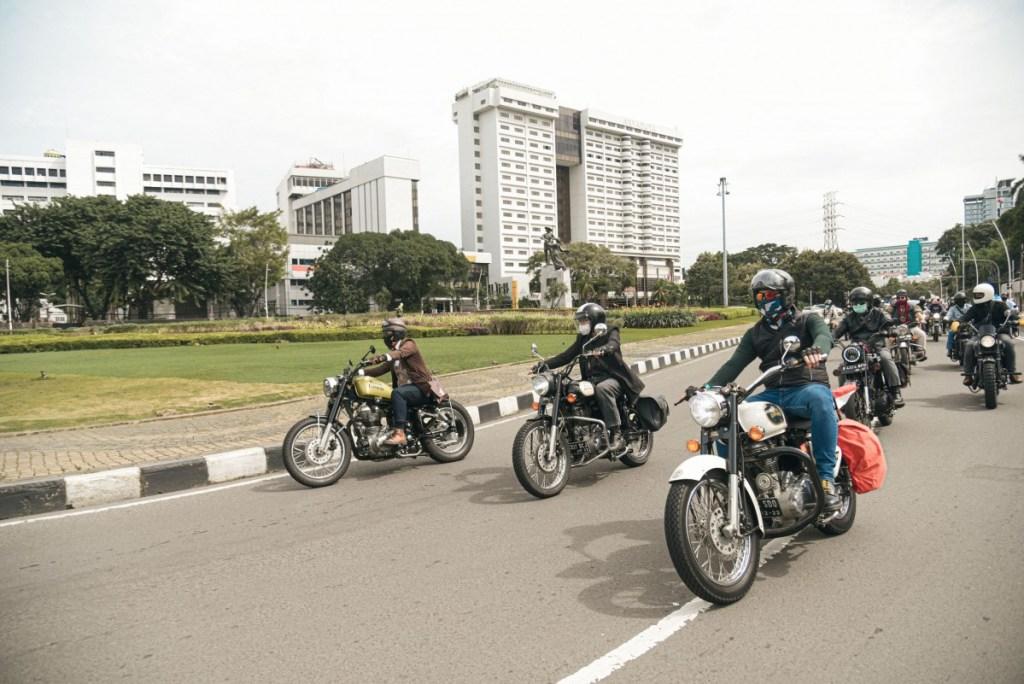 Classic Ride Bersama Royal Enfield, Singgahi Spot Otentik Jakarta