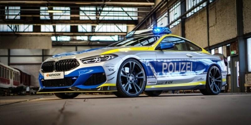 Bukan Main, Polantas Jerman 'Dipersenjatai' BMW M850i AC Schnitzer!