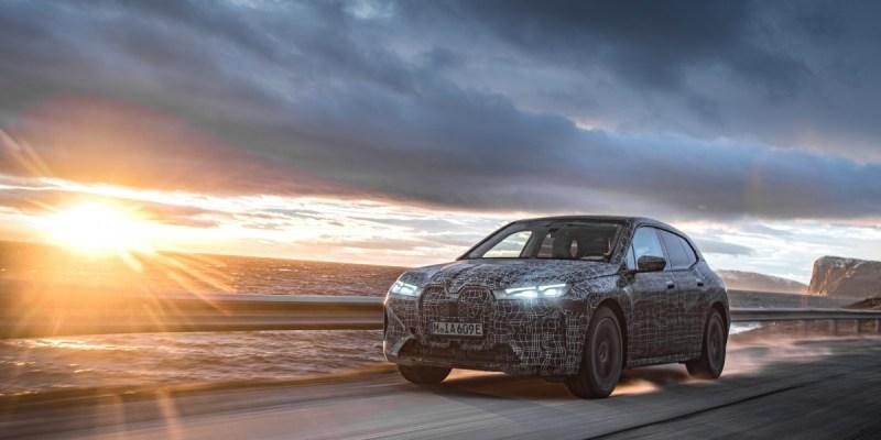 BMW iX Electric SUV Masuki Fase Pengujian Dingin Di Bagian Utara yang Beku
