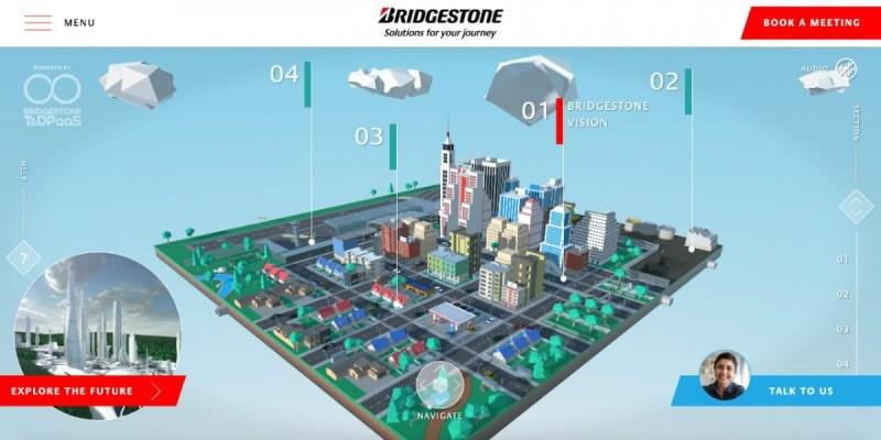 Bridgestone Pamerkan Konsep Kota Virtual Masa Depan di CES 2021