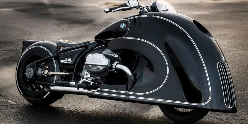 Modifikasi BMW R 18 Spirit Of Passion Bergaya Art Deco Dengan Grille Besar Khas BMW