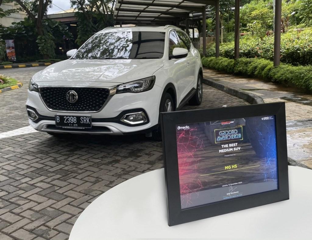 MG HS Sabet Gelar Best Medium SUV di Pasar Otomotif Indonesia