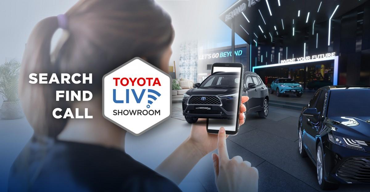 """Toyota-Astra Motor Hadirkan """"Toyota Live Showroom"""" Bagi Konsumen"""