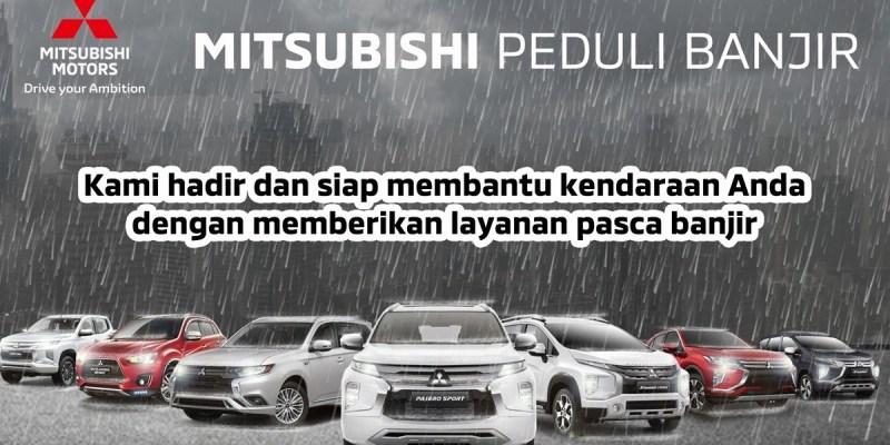 MMKSI Luncurkan Program 'Mitsubishi Peduli Banjir'