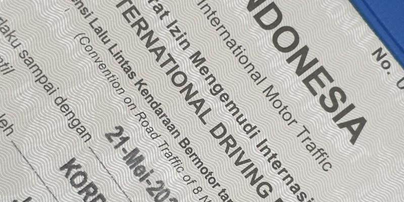 IMI Inginkan SIM Internasional Indonesia Diterima di Semua Negara
