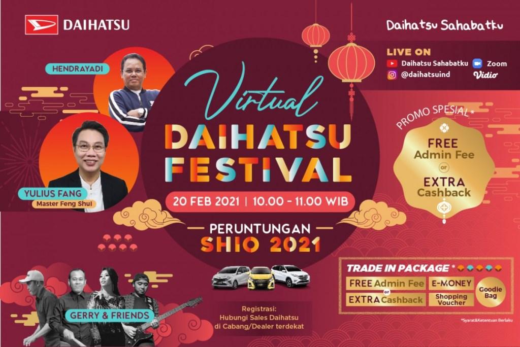 Daihatsu Siap Hadirkan kembali Program Virtual Daihatsu