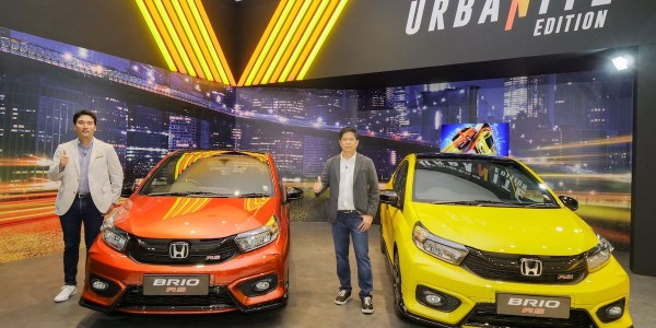New Honda Brio RS Urbanite Edition Meluncur