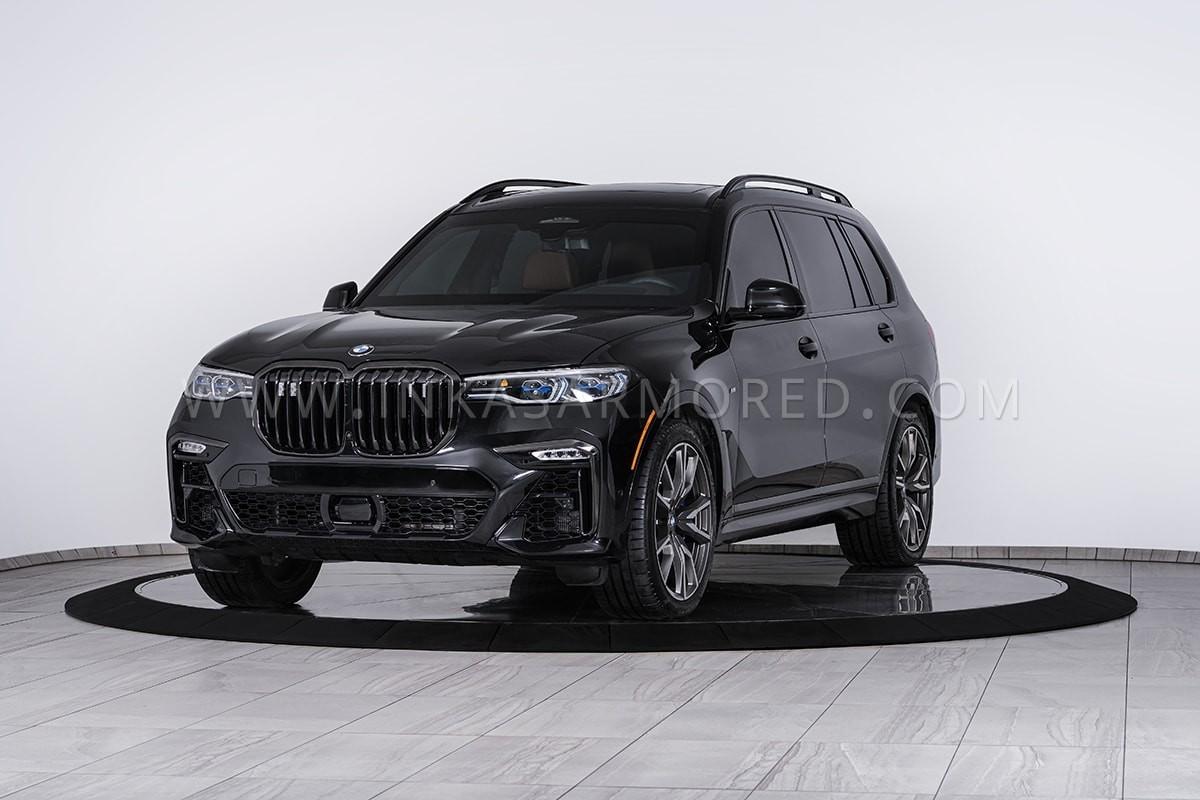 BMW X7 Lapis Baja, Tahan Peluru Dan Granat