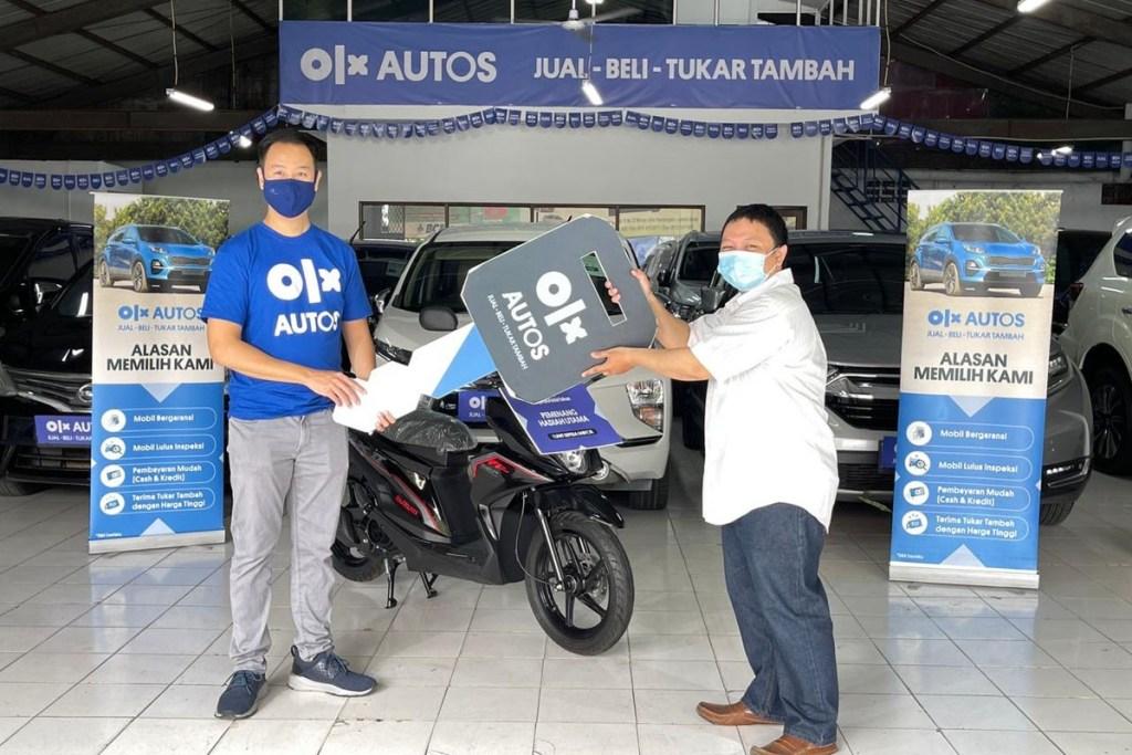 'Kejutan Akhir Tahun', OLX Autos Bagi-Bagi Motor