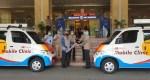 Serah-Terima unit donasi mobil klinik Daihatsu Gran Max dari perwakilan …