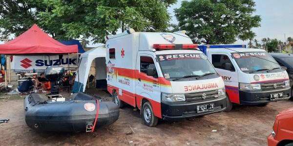 Kesigapan Unit Reaksi Cepat Suzuki Bantu Korban Banjir di Bekasi