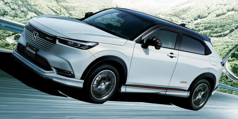 Honda HR-V 2021 Versi Jepang Hadir Dengan Paket Mugen