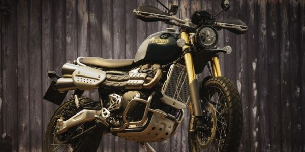 Triumph Scrambler edisi Steve McQueen, Hanya 1000 Unit Didunia