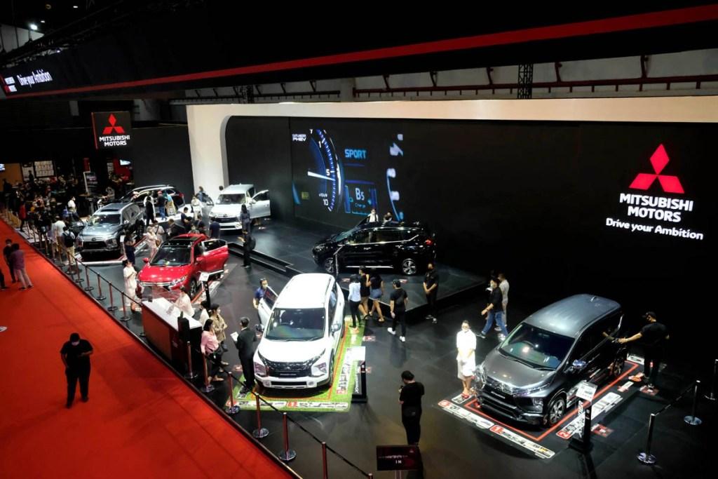 Kemudahan Eksplorasi Booth Mitsubishi Motors di IIMS Hybrid 2021
