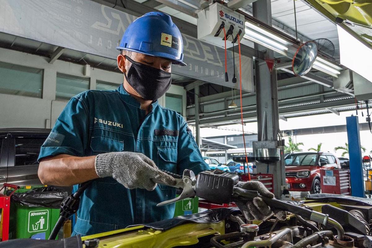 Keuntungan Merawat Suzuki Dibengkel Resmi