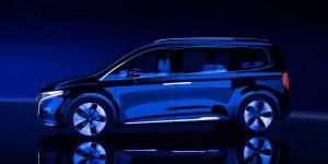 Mercedes-Benz Concept EQT, Kualitas Premium MPV Listrik