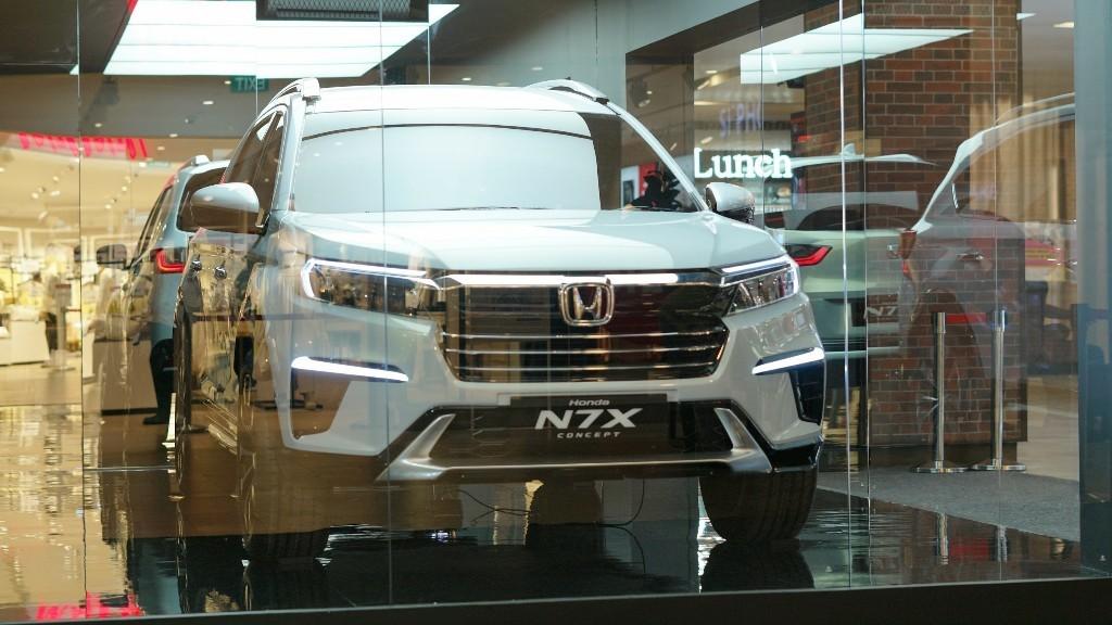 Setelah Bandung, Honda N7X Concept Hadir di Semarang