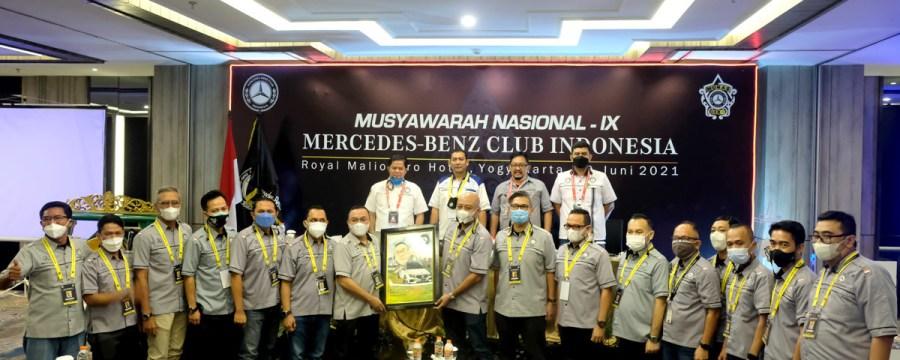Gelar Munas ke-IX, MB Club INA Pilih Presiden Periode 2021-2023